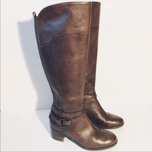 Marc Fisher Kacee Tall Riding Boots Size 7.5 M